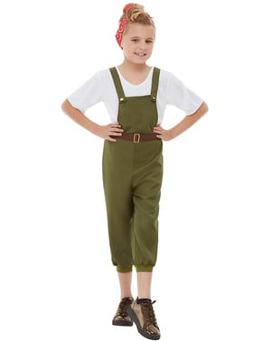 Farmer Costume for Girls