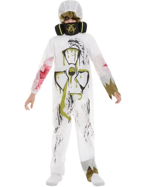 Zombie Scientist Costume for Boys