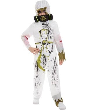 Déguisement Zombie scientifique garçon