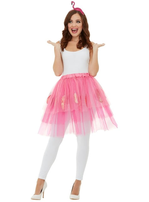 Flamingo kostuum voor vrouw