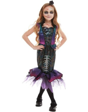 Zombie Meerjungfrau Kostüm für Mädchen