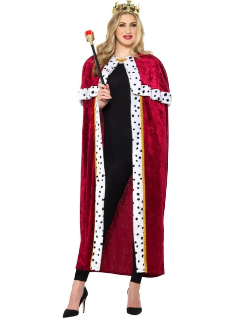 King Costume for Men in Red - man