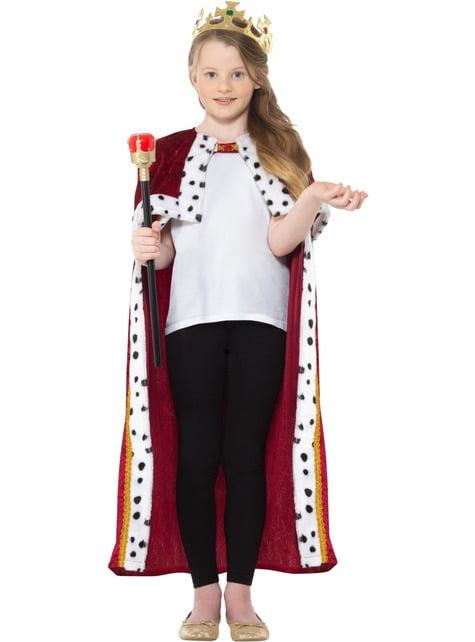 Disfraz de Rey rojo para niño - infantil