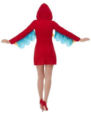 Papagaai kostuum voor vrouw