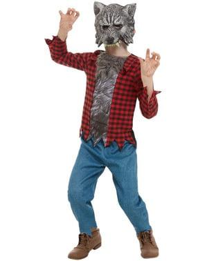 Schots weerwolf kostuum voor jongens