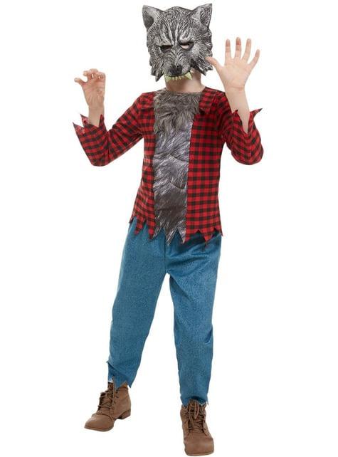 Werewolf Costume for Kids - kid