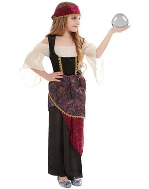 Psychisch zigeunerkostuum voor meisjes