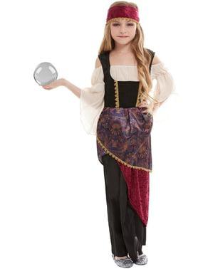 Synsk Sigøjner Kostume til Piger