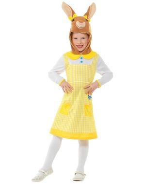 Peter Rabbit Deluxe kostuum voor meisjes