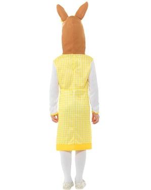 Costume Peter Rabbit Deluxe per bambina
