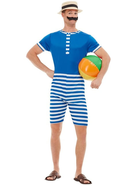 Disfraz de bañista de los Años 20 para hombre