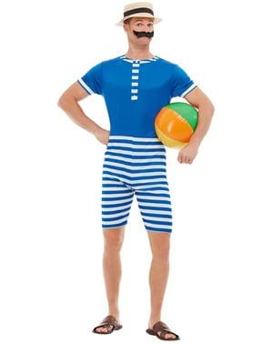 Jaren 20 zwempak kostuum voor mannen