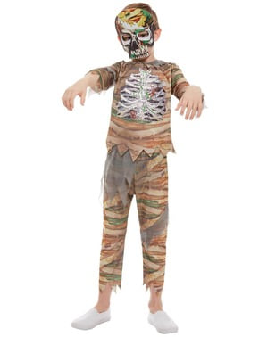 Kostým zombie mumie pro chlapce
