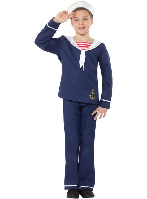 Fato de marinheiro para menino