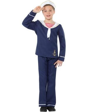 Sjømann Kostyme til Gutter