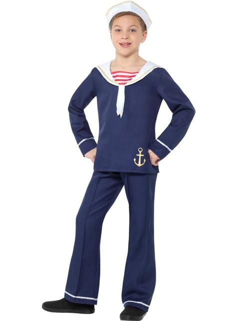 Fato de marinheiro para menino - crianças