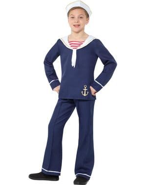 Námorník kostým pre chlapcov