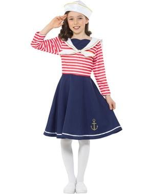 Costum de marinăriță pentru fată