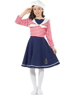 Mornar Kostim za djevojčice
