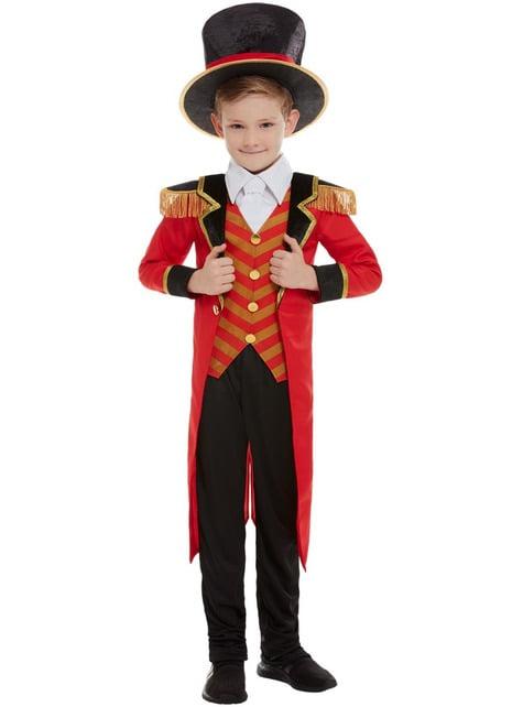 Disfraz de domador de circo Deluxe para niño