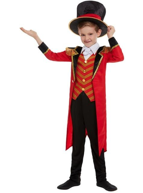 Disfraz de domador de circo Deluxe para niño - infantil