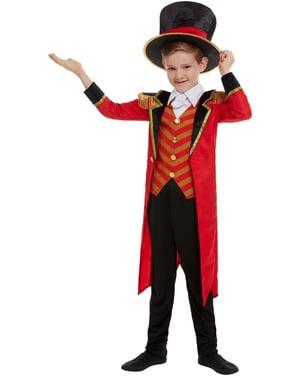 Costume da domatore circense Deluxe per bambino