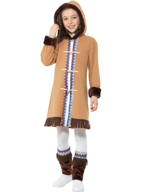 Arctic Eskimo Costume for Girls
