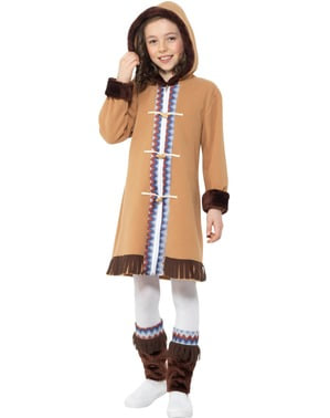 Arctic Eskimo Costume for Girls