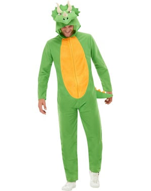 Dinosaur Costume for Adults in Green