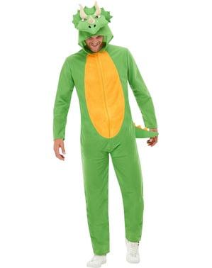 Dinosaur Kostyme til Voksne i Grønt