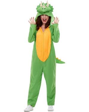 Динозавр Костюм для дорослих в зелений