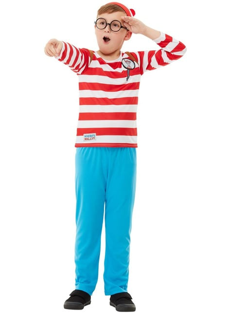 Where's Wally Deluxe Costume for Boys