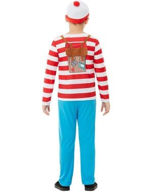Costum Unde este Wally? Deluxe pentru băiat
