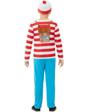 Wo ist Walter? Kostüm Deluxe für Jungen