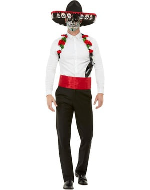 Mexican Catrina Costume Set for Men