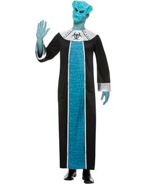 Kostým mimozemšťan pro muže modrý