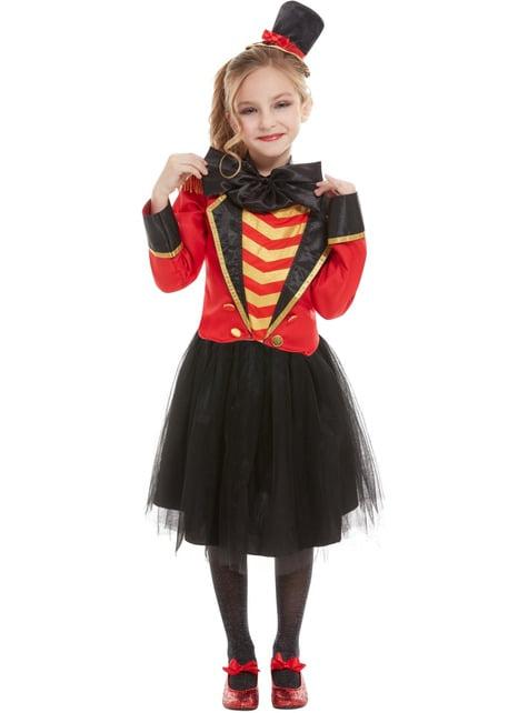 Kostium deluxe Cyrkowy Konferansjer dla dziewczynek