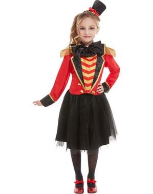 Deluxe circusdirecteur kostuum voor meisjes