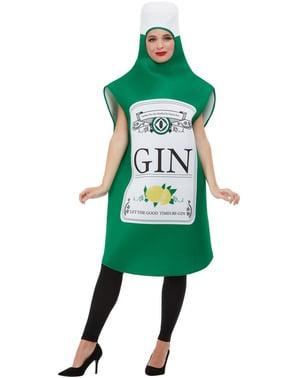 Costume da bottiglia di gin per uomo