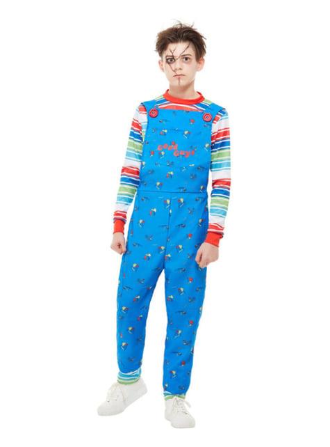 Chucky Kids's Play Costume for Boys