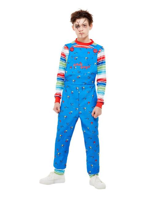 Disfraz de Chucky, el muñeco diabólico para niño - infantil