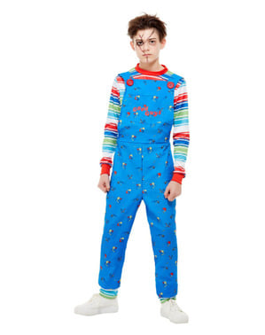 Costum Chucky, păpușa diabolică pentru băiat