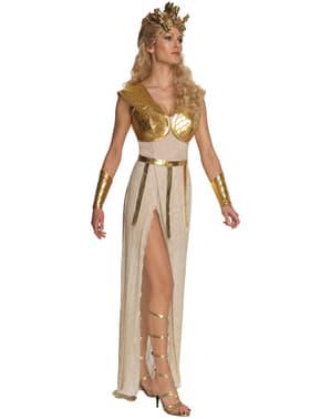 Fato de Athena Confronto de Titãs para mulher