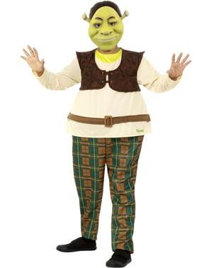 Costum Shrek pentru băiat