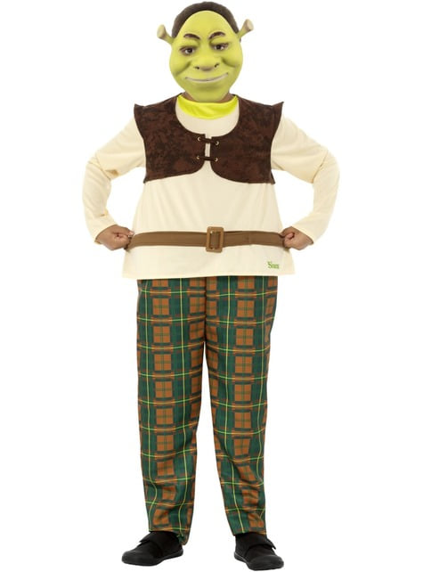 Disfraz de Shrek para niño - infantil