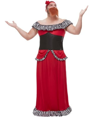Disfraz de Mujer Barbuda para hombre