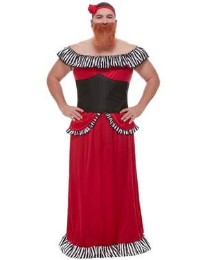 Bearded Lady Costume for Men