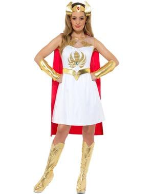 She-Ra-kostuum voor vrouwen