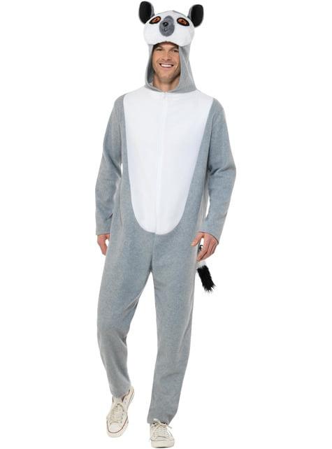Disfraz de Lémur para adulto