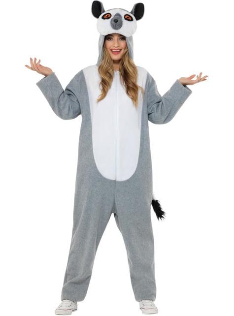 Disfraz de Lémur para adulto - adulto